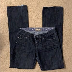 Paige Benedict Canyon Boot Cut Jeans